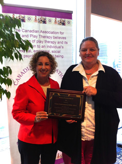 Liana Lowenstein receives the 2014 Monica Herbert Award